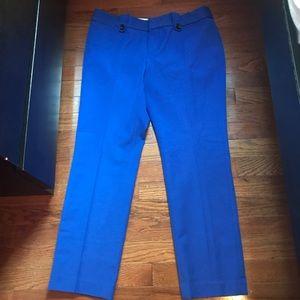 Banana Republic cobalt blue pants- firm price